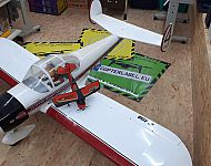 ERCOUPE 415 D 250cm Spannweite Seagull Models 35ccm Motor - Kliding
